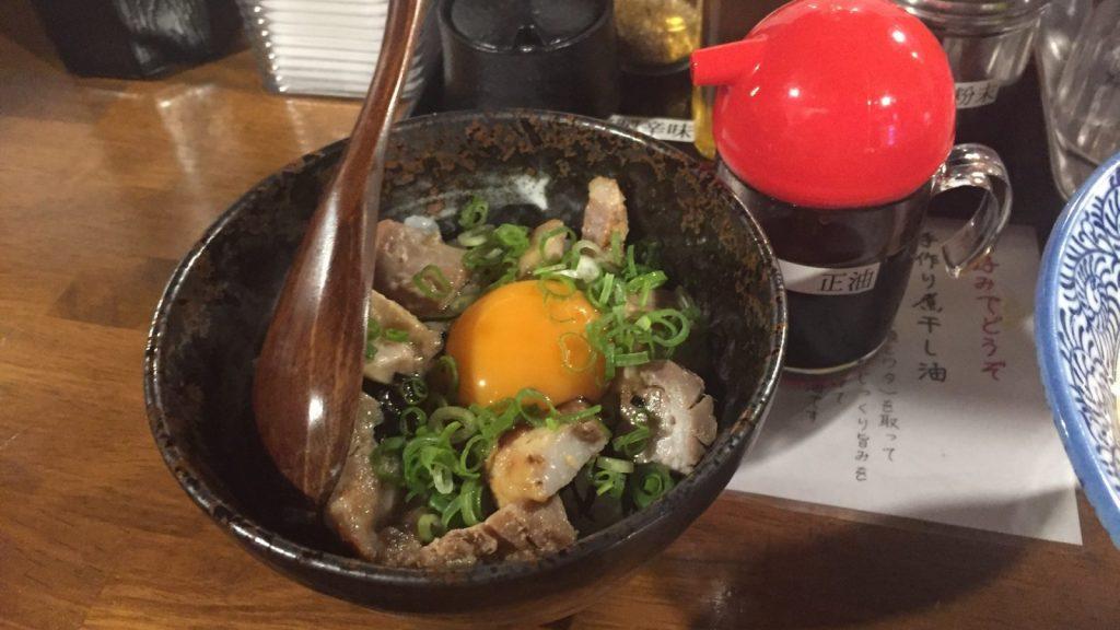 麺匠春晴 卵かけご飯