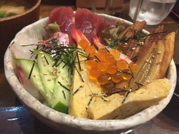 愛水月 海鮮丼 2