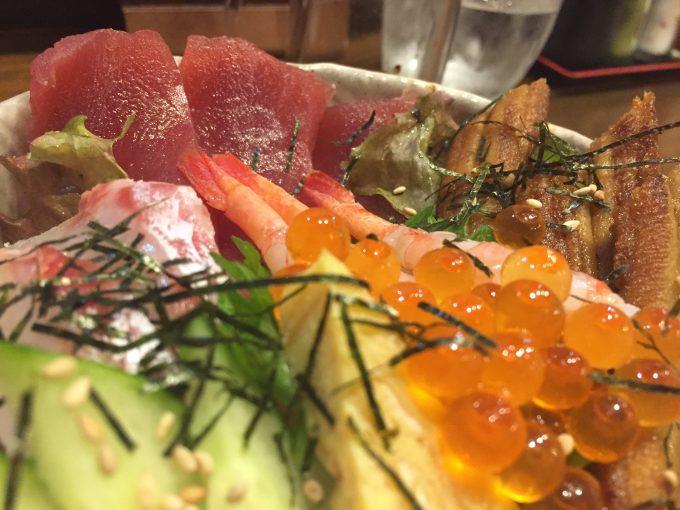 愛水月 海鮮丼 3