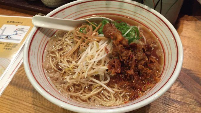 木鶏製麺所 ラーメン