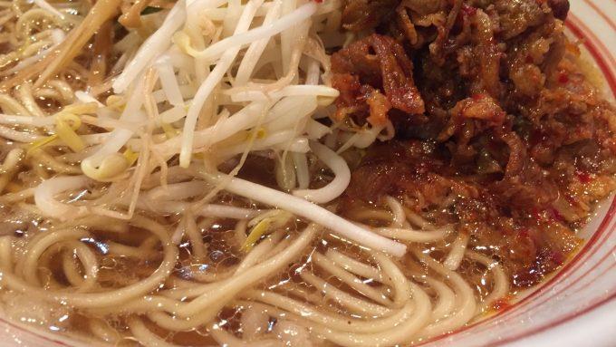 木鶏製麺所 ラーメン 接写 3