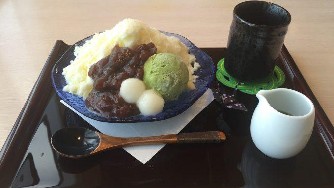 日本料理みつき 宇治金時 0