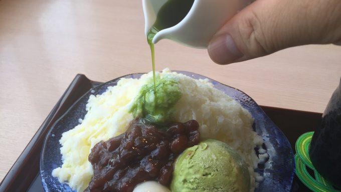 日本料理みつき 抹茶シロップ 2