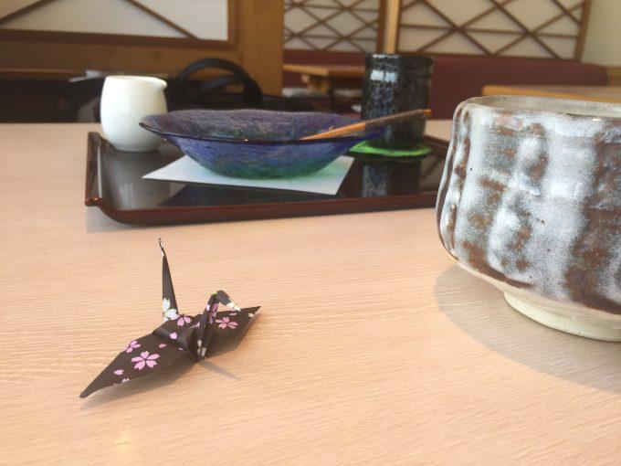 日本料理みつき 食後の様子