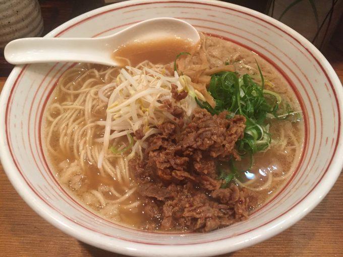 木鶏製麺所 馬肉ラーメン 1
