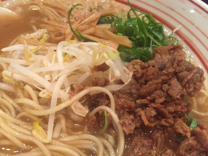 木鶏製麺所 馬肉ラーメン