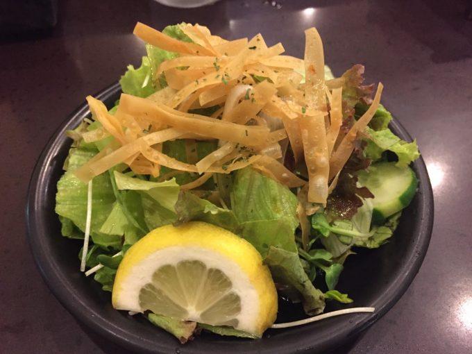 つぼやきカレー キートン サラダ