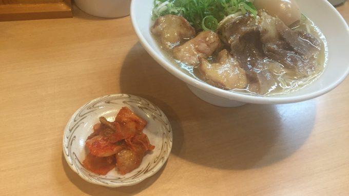 らぁ麺 國 キムチ