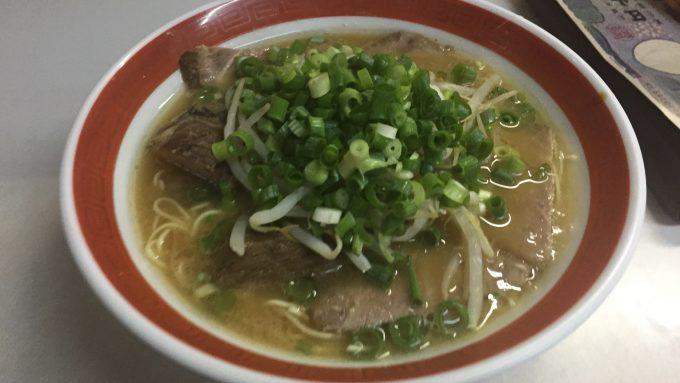 寿楽亭 チャーシュー麺